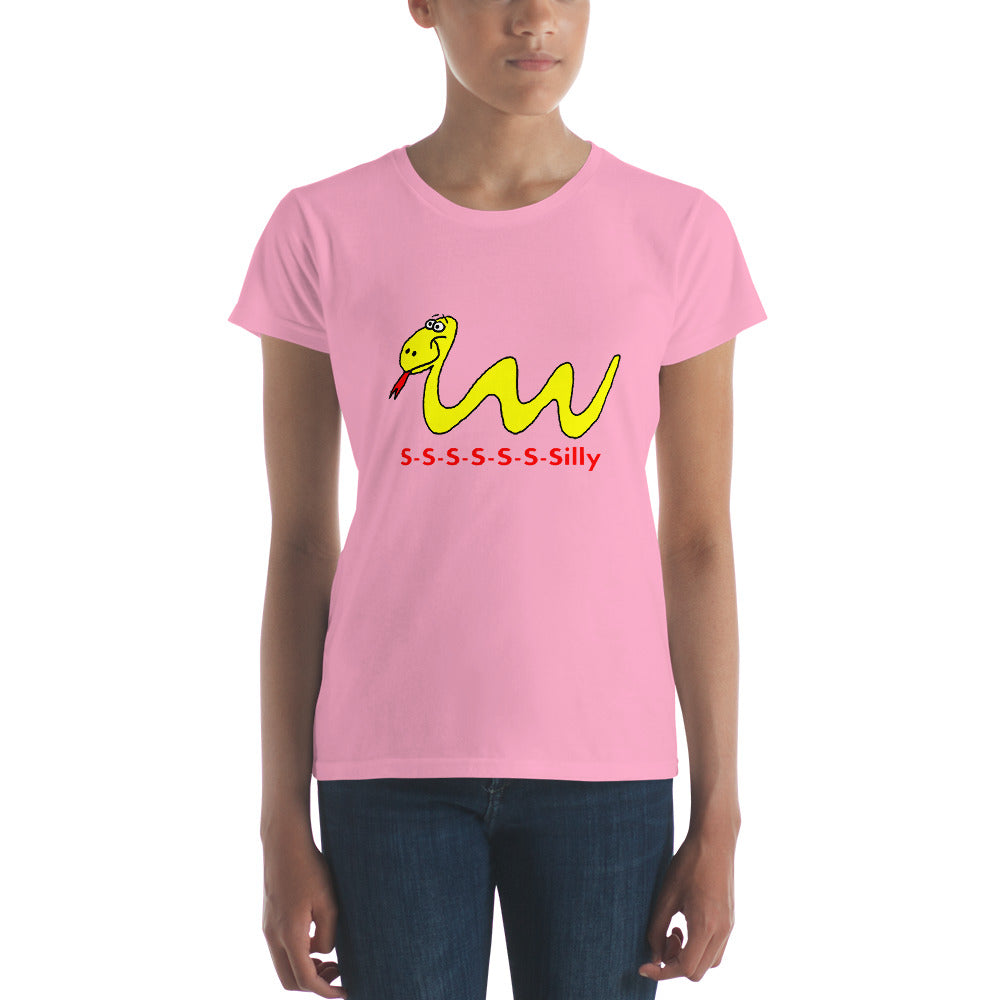 Our Silly Snake Women's t-shirt Many Sizes and Colors, Short Sleeve