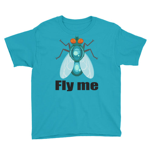 Fly Me Youth Short Sleeve T-Shirt