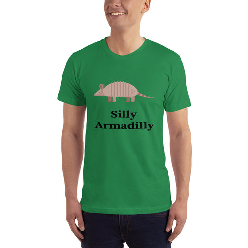 Silly Armadilly Men's Short-Sleeve T-Shirt