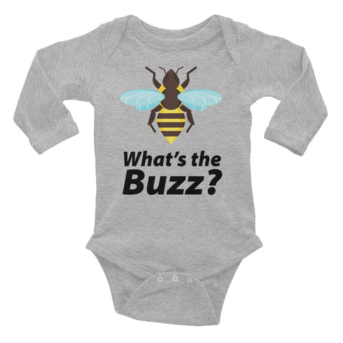 What's the Buzz Bee Infant Long Sleeve Bodysuit
