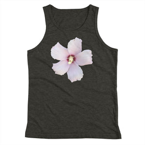 Rose of Sharon Flower Youth Tank Top