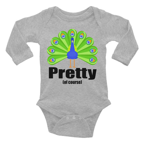 Peacock Infant Long Sleeve Bodysuit - Mr. Shazz
