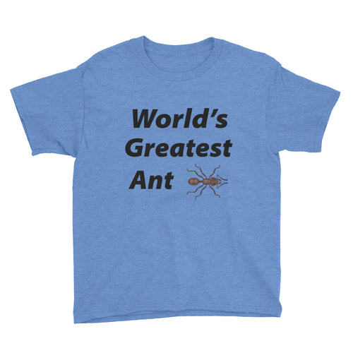 World's Greatest Ant Youth Short Sleeve T-Shirt