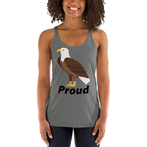 Proud Eagle Women's Racerback Tank top