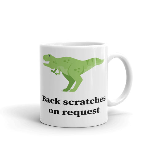 Back Scratches on Request Mug - Mr. Shazz