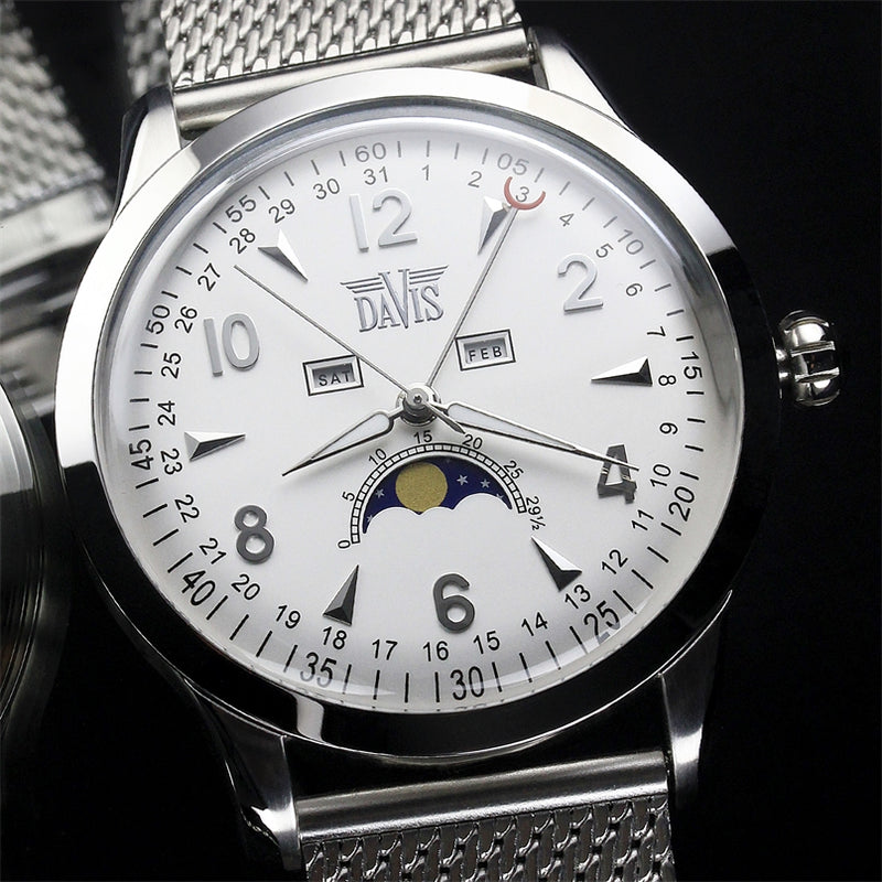 Montre Phase de Lune 1501MB