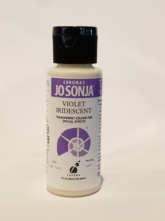 Jo Sonja's Iridescent Color - Iridescent Violet 2oz Bottle