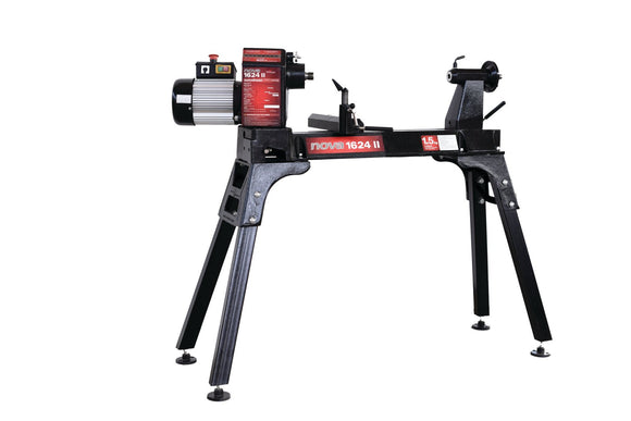 NOVA 1624 II 16-Inch x 24-Inch 8 Speed Wood Lathe