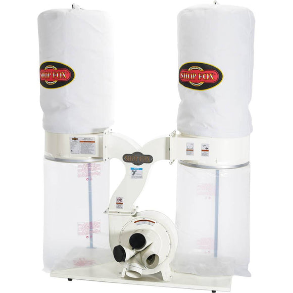 SHOP FOX® 3 HP Dust Collector