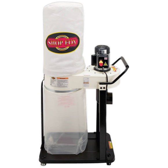 SHOP FOX® 1 HP Dust Collector