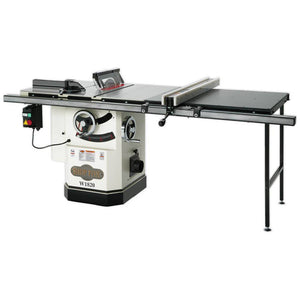 "SHOP FOX® 10"" 3 HP Cabinet Table Saw with Riving Knife & Long Rails"