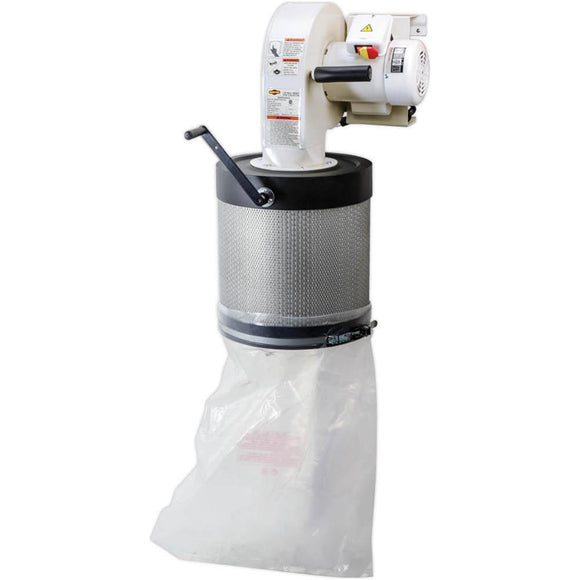 SHOP FOX® Wall-Mount Dust Collector with Canister Filter