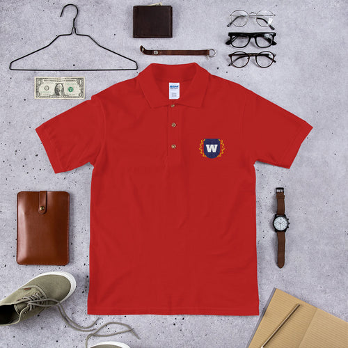 Scholar: Embroidered Polo Shirt