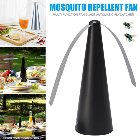 Automatic Fly trap - Keep Flies And Bugs Away From You And Your Foods - Keep Enjoy Outdoor Meals