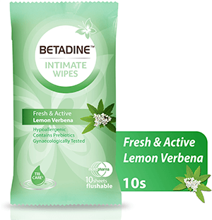 Betadine  Wipes Fresh & Active 10 Sheets