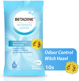 Betadine  Wipes Odour Control 10 Sheets