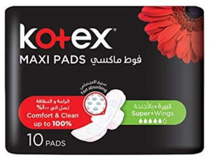 Kotex Maxi Super With Wings 10 pcs