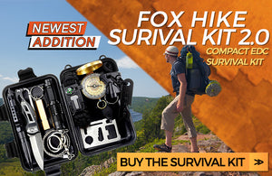 Fox Hike Hiking Gear Survival Outdoor