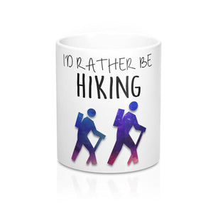 "FOX HIKE™ - ""RATHER HIKING"" MUG - Fox Hike Hiking Gear Outdoor Trekking Survival"