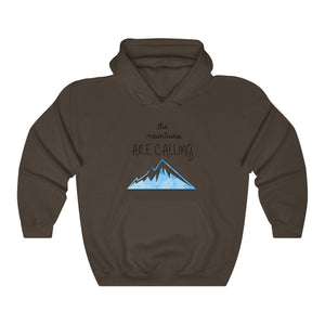 "FOX HIKE™ - ""MOUNTAINS ARE CALLING"" UNISEX HOODIE - Fox Hike Hiking Gear Outdoor Trekking Survival"