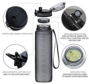BPA Free Hiking Bottle - Fox Hike Hiking Gear Outdoor Trekking Survival