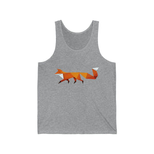 FOX HIKE™ - Unisex Jersey Tank - Fox Hike Hiking Gear Outdoor Trekking Survival