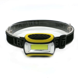Mini 3 Modes Waterproof COB LED Headlamp - Fox Hike Hiking Gear Outdoor Trekking Survival