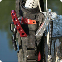 Elastic Security Keychain - Fox Hike Hiking Gear Outdoor Trekking Survival