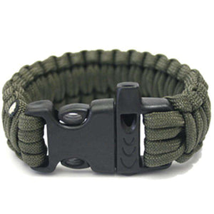 Simble Paracord Bracelet with Whistle - Fox Hike Hiking Gear Outdoor Trekking Survival