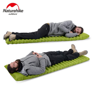 Naturehike™ ULTRALIGHT fast filling Sleeping Pad - Fox Hike Hiking Gear Outdoor Trekking Survival