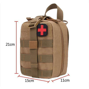 Heavy Duty First Aid Bag - Fox Hike Hiking Gear Outdoor Trekking Survival
