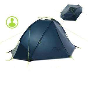 1-2 Person 3 Season Double Layer Windproof Tent - Fox Hike Hiking Gear Outdoor Trekking Survival
