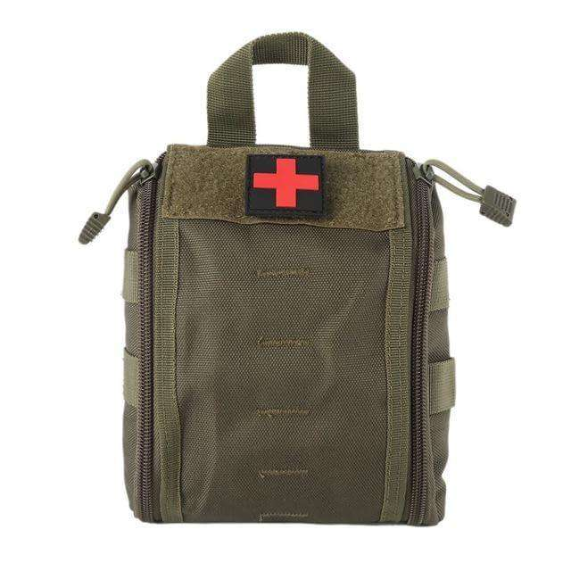 Tactical Molle Medical First Aid Kit - Fox Hike Hiking Gear Outdoor Trekking Survival