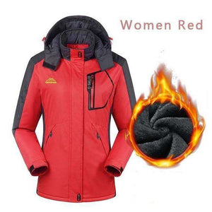 Women Windproof Fleece Jacket - Fox Hike Hiking Gear Outdoor Trekking Survival