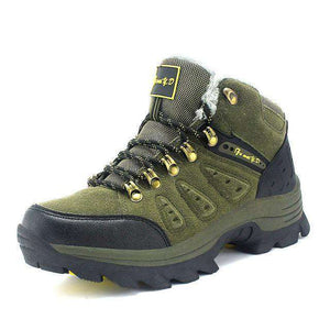 High Cut Unisex Hiking Shoes - Fox Hike Hiking Gear Outdoor Trekking Survival