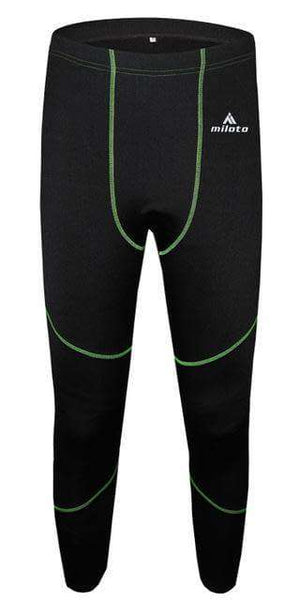 Men Winter Thermal Underwear - Fox Hike Hiking Gear Outdoor Trekking Survival