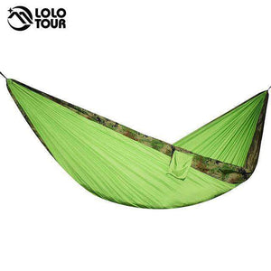 ULTRALIGHT Portable Parachute Hammock - Fox Hike Hiking Gear Outdoor Trekking Survival