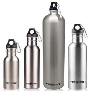 Stainless Steel Bottle - Fox Hike Hiking Gear Outdoor Trekking Survival