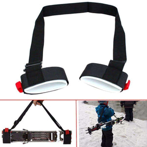 Adjustable Ski Pole Carrier - Fox Hike Hiking Gear Outdoor Trekking Survival