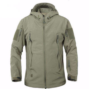 Fox Hike™ Outdoor Resistant Softshell Jacket - Fox Hike Hiking Gear Outdoor Trekking Survival