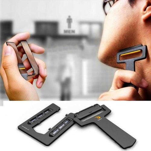 EDC Portable Shaver-Card - Fox Hike Hiking Gear Outdoor Trekking Survival