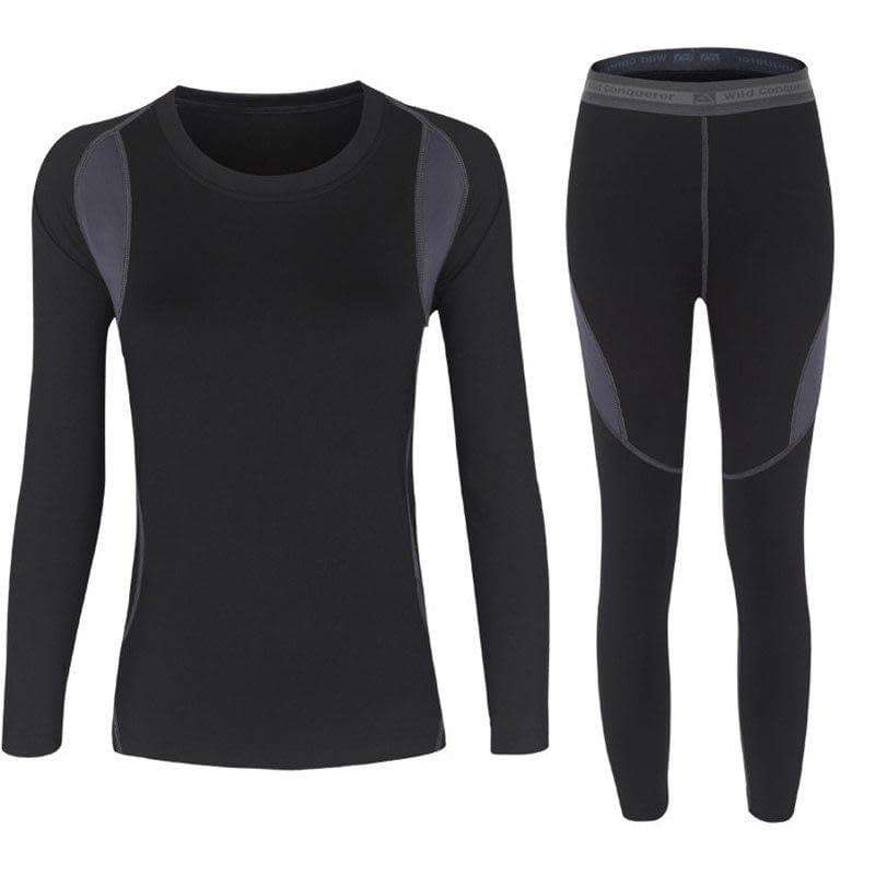 Women and Men Quick Dry Thermal Underwear - Fox Hike Hiking Gear Outdoor Trekking Survival