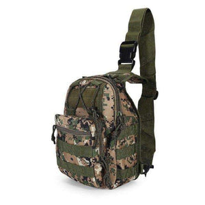 Tactical Shoulder Daypack - Fox Hike Hiking Gear Outdoor Trekking Survival