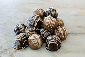 Peanut Butter Fudge Balls