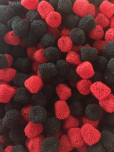 Jelly Raspberries & Blackberries