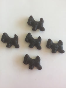 Licorice Scottie Dogs