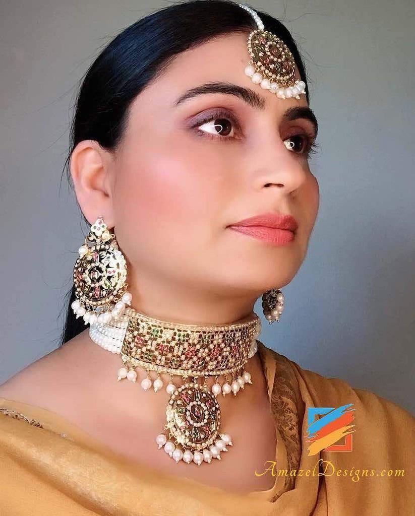 Tips to Buy Traditional Punjabi Jewellery with Ethnic Wear