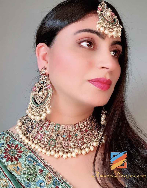 Indian Bridal Jewellery Sets - 4 Types of Wedding Necklaces You Must Consider
