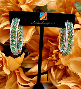 American Diamond (AD) Green Waali
