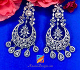 American Diamond (AD) Silver Earrings